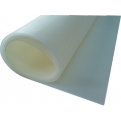 Siliconesolidsheeting,white4 mm-bythem2