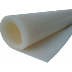 Siliconesolidsheeting,transparent0,5 mm-m2