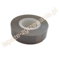 Taśma teflonowa z CZYSTEGO TEFLONU z klejem, 20x0,13 mm -dł. 10m