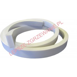Siliconesolidprofile,white10x15x1200mm
