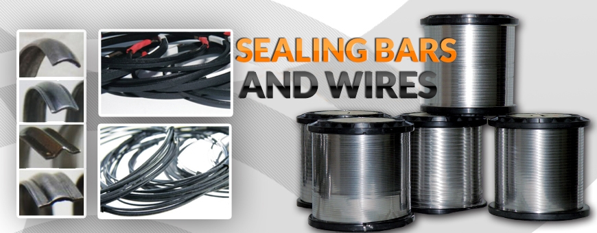 Sealing bars and wires
