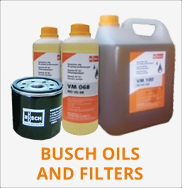 Oleje i filtry Busch